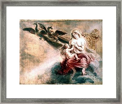 Juno Suckling Hercules Framed Print by Granger