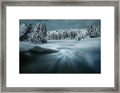 Just A Dream Framed Print by Arnaud Maupetit