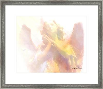 Just A Glimmer  Framed Print by Jean Gugliuzza