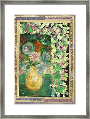 Just A Little Something From The Girly Girl Framed Print by Anne-Elizabeth Whiteway