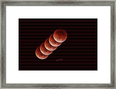 Just A Minute - The Slat Collection Framed Print by Bill Kesler