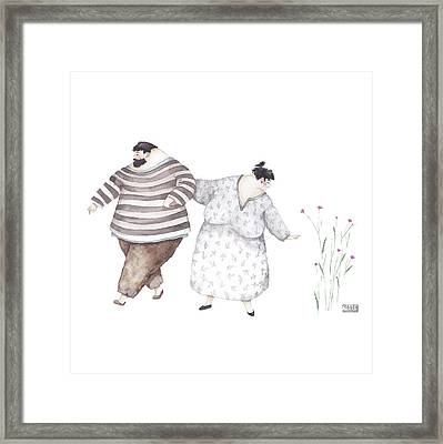 Just A Second Framed Print by Soosh