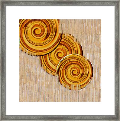 Just Bread Framed Print by Pepita Selles