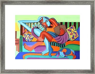 Just Chillin Framed Print by Anthony Falbo