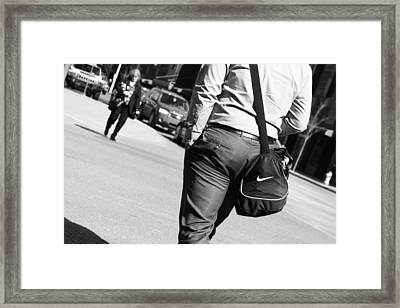 Just Did It  Framed Print by JC Photography and Art