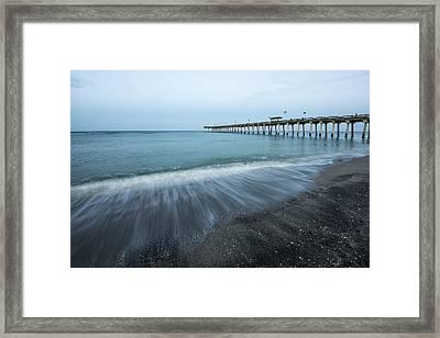Just Fishing Framed Print by Jon Glaser