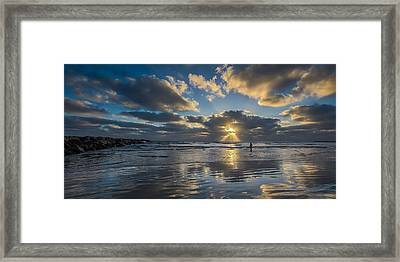 Just Her And Me Framed Print by Peter Tellone