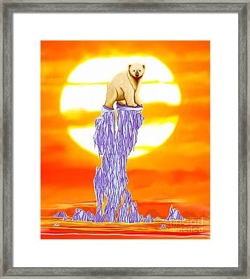Just My Imagination  Framed Print by Nick Gustafson