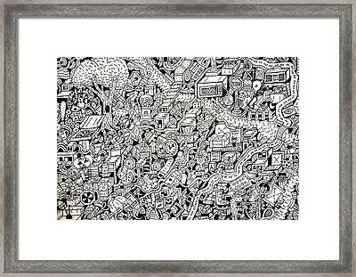 Just One Night Framed Print by Chelsea Geldean
