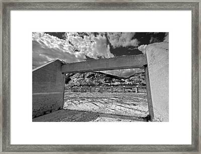 Just Past The Opening Framed Print by James Steele