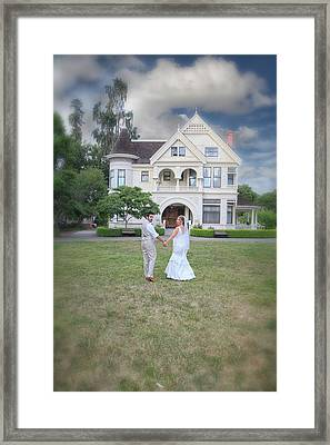 Just The Beginning Framed Print by Laurie Search