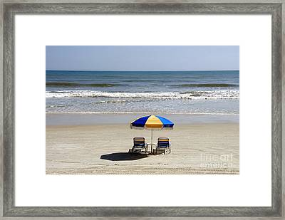 Just The Two Of Us Framed Print by David Lee Thompson