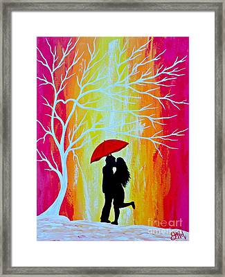 Just The Two Of Us Framed Print by JoNeL Art