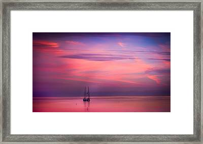 Just The Two Of Us Framed Print by Karen Wiles
