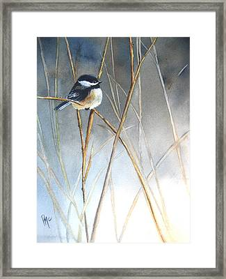 Just Thinking Framed Print by Patricia Pushaw