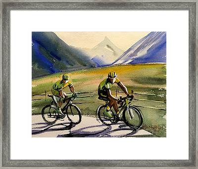 Just Us Two Framed Print by Shirley Peters