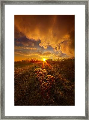 Just You And I Framed Print by Phil Koch