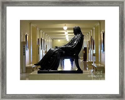 Justice John Marshall 1 Framed Print by Randall Weidner