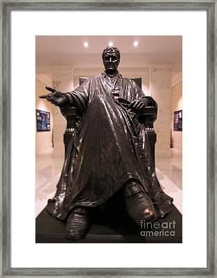 Justice John Marshall 2 Framed Print by Randall Weidner