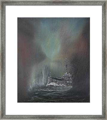 Jutland Framed Print by Vincent Alexander Booth