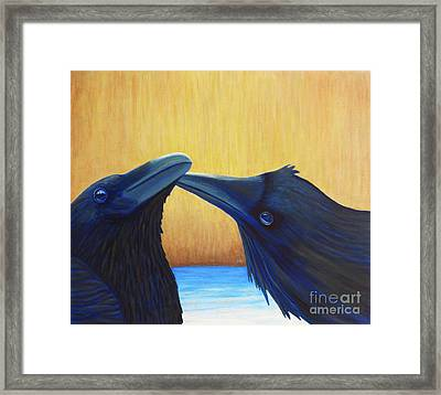 K And B Framed Print by Brian  Commerford