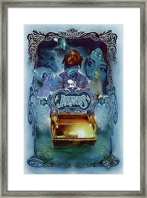 K-os Atlantis Hymns For Disco Framed Print by Nelson Garcia