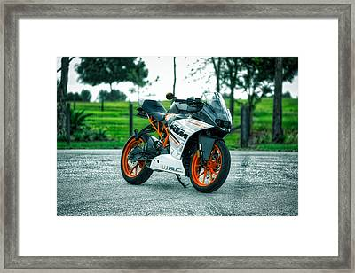 K T M Cycle Framed Print by Mountain Dreams