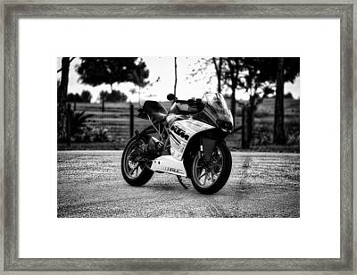 K T M Motorcycle Framed Print by Mountain Dreams