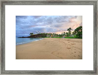 Ka'anapali Beach Hotel  Framed Print by Kelly Wade