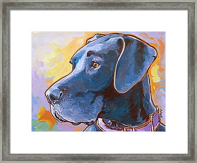 Kaia Framed Print by Nadi Spencer
