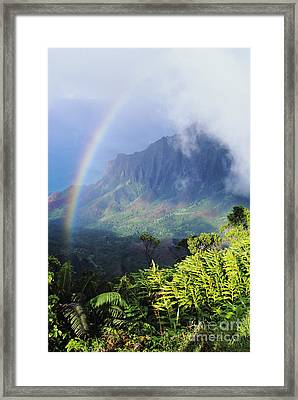 Kalalau Valley Framed Print by Brent Black - Printscapes
