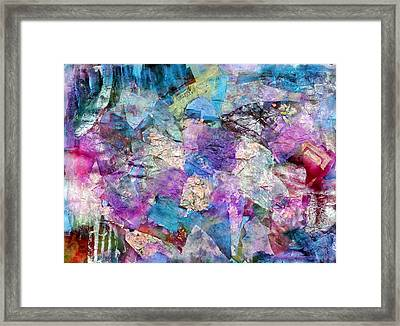 Kaleidoscope Framed Print by Don  Wright