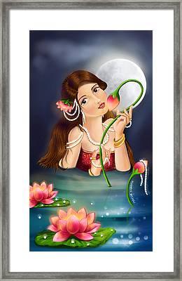 Kamal Priye Framed Print by Mayur Sharma