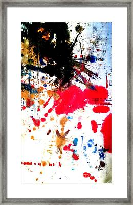 Kamor Abstract Framed Print by Amy Sorrell