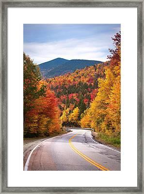 Kancamagus Highway Framed Print by Eric Gendron