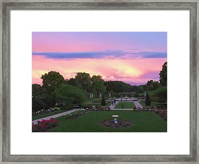 Kansas City's Loose Park #2 Framed Print by Stacia Blase