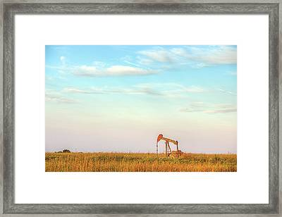 Kansas Energy  Framed Print by JC Findley