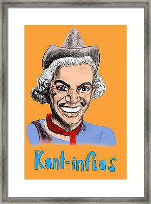 Kant-inflas Framed Print by Jose Maria Carro Lopez