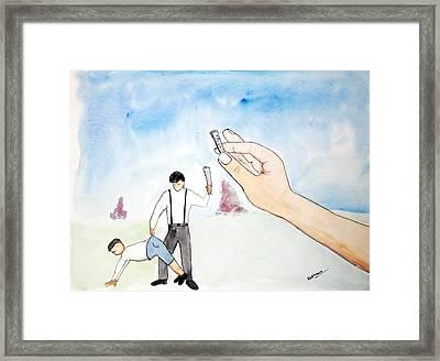 Karma Framed Print by Keshava Shukla