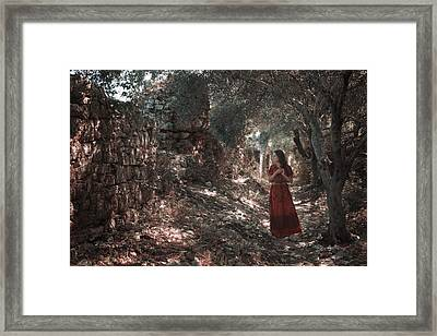 Kassiopi - Corfu Framed Print by Cambion Art