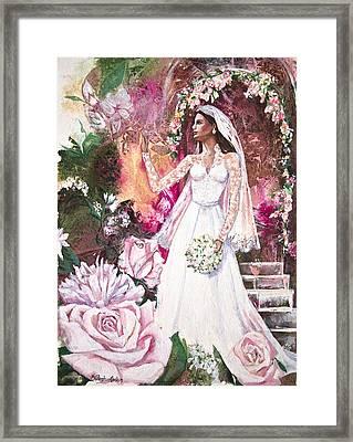 Kate The Princess Bride Framed Print by Patricia Allingham Carlson