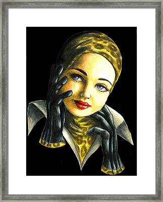 Kathrine Framed Print by Scarlett Royal