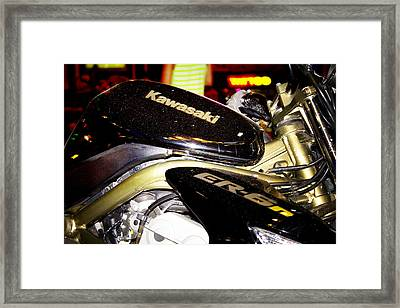 Kawasaki Framed Print by Stelios Kleanthous