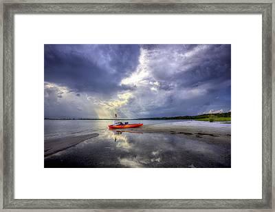 Kayak Pcb Framed Print by JC Findley