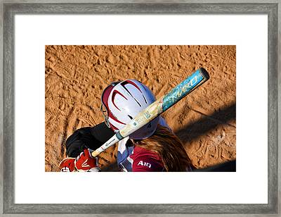 Kaycee's On Deck Framed Print by Mike Martin