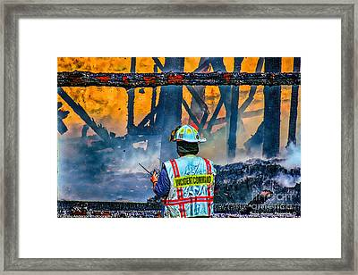 Keep Fire In Your Life #14 Framed Print by Tommy Anderson