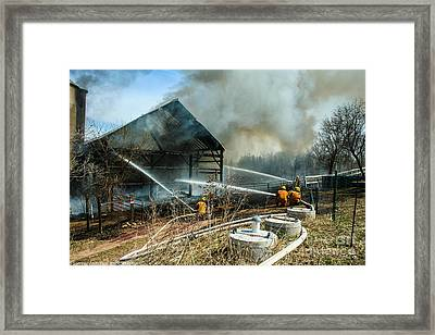 Keep Fire In Your Life #15 Framed Print by Tommy Anderson