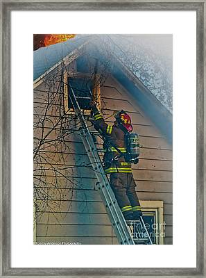 Keep Fire In Your Life No 2 Framed Print by Tommy Anderson