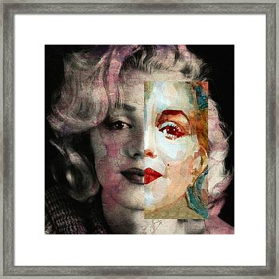 Keep Me Safe Lie With Me Stay Beside Me Don't Go Framed Print by Paul Lovering