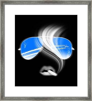 Keep On Flying Framed Print by Filippo B